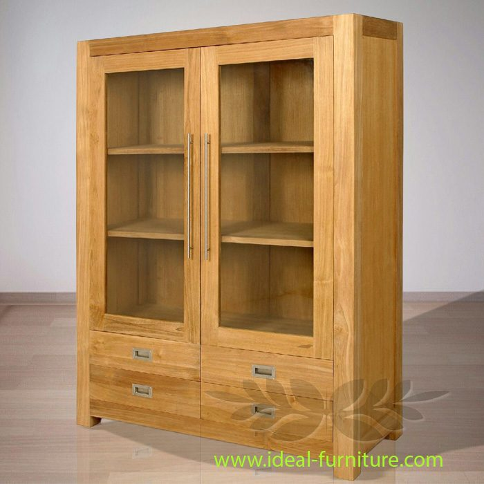 Indonesian Indoor Teak Furniture: Gala Teak Cabinet 4 Drawers