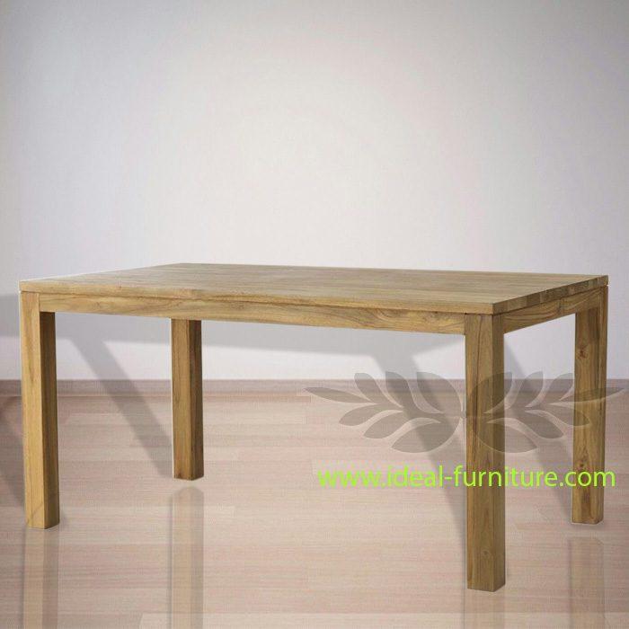 Indonesian Indoor Teak Furniture: Jasper Dining Table (IFDT004)