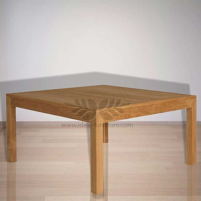 Indonesian Indoor Teak Furniture: Lukas Dining Table (IFDT005)