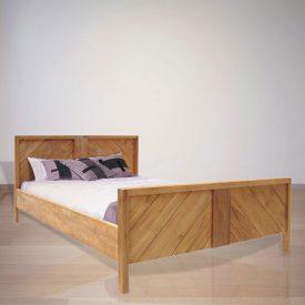 Indonesian Indoor Teak Furniture Margaux Bed