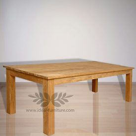 Indonesia Indoor Teak Furniture: Mika Dining Table (IFDT006)