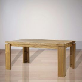 Indonesian Indoor Teak Furniture: Nelson Dining Table (IFDT001)