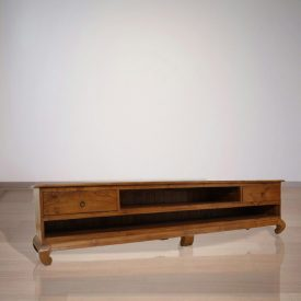 Indonesian Indoor Teak Opium TV Console (IFET-005)