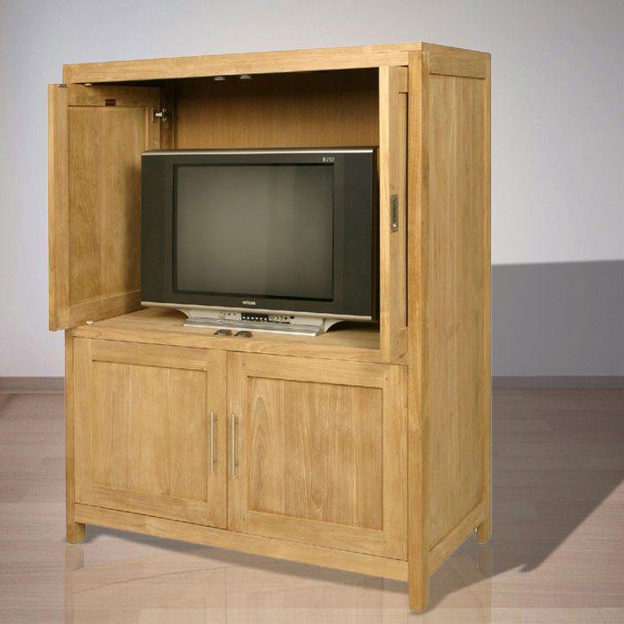 Indonesian Indoor Teak Furniture Paul TV Cabinet (IFET-003)