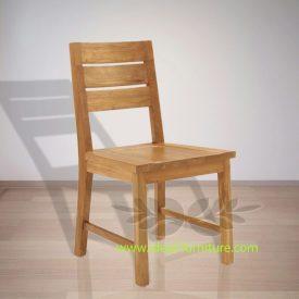 Indonesian Indoor Teak Furniture Pieter Dining Chair (IFDC-015)