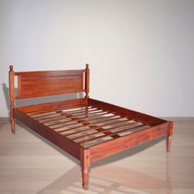 Indonesian Indoor Teak Furniture Smith Bed (IFBD-004)