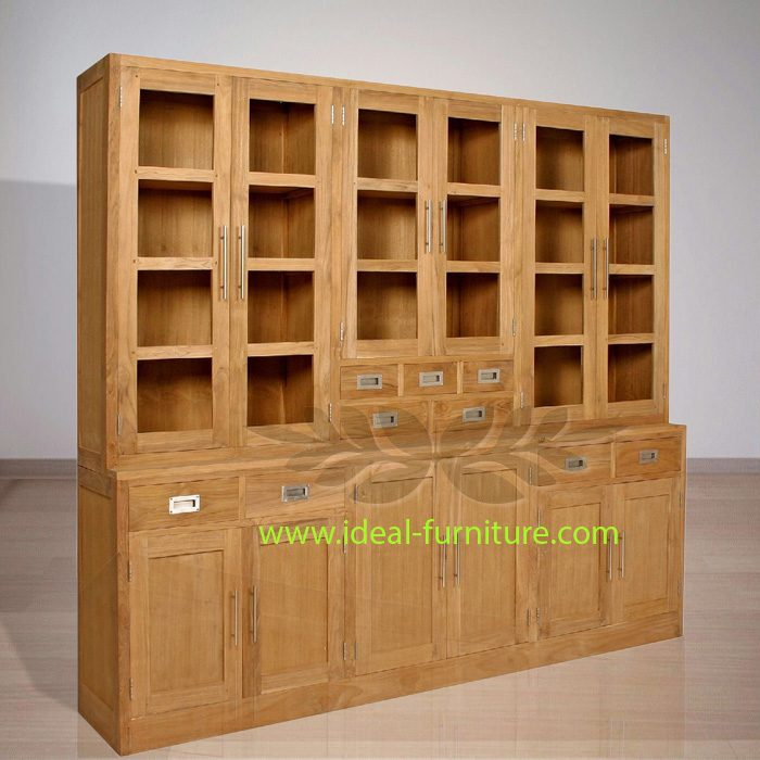 Indonesian Indoor Teak Furniture Thomas Cupboard