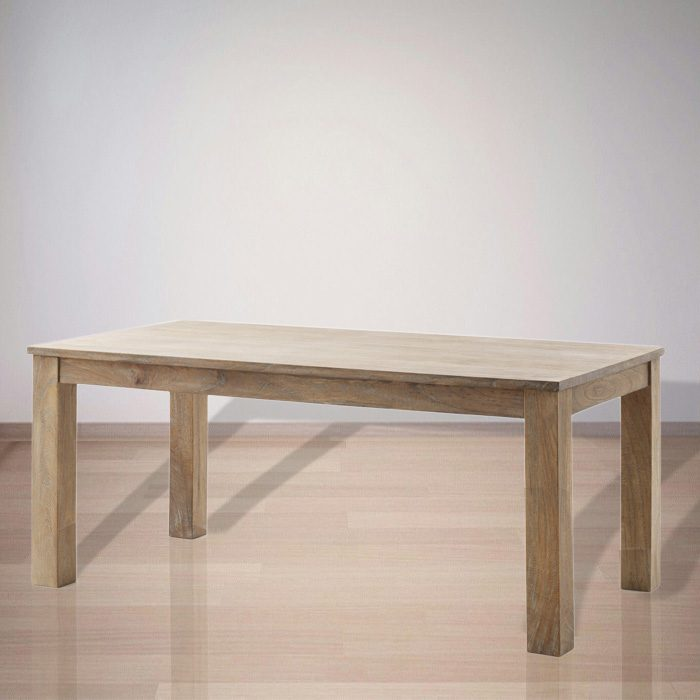 Indonesian Indoor Teak Furniture: Tucker Dining Table (IFDT003)
