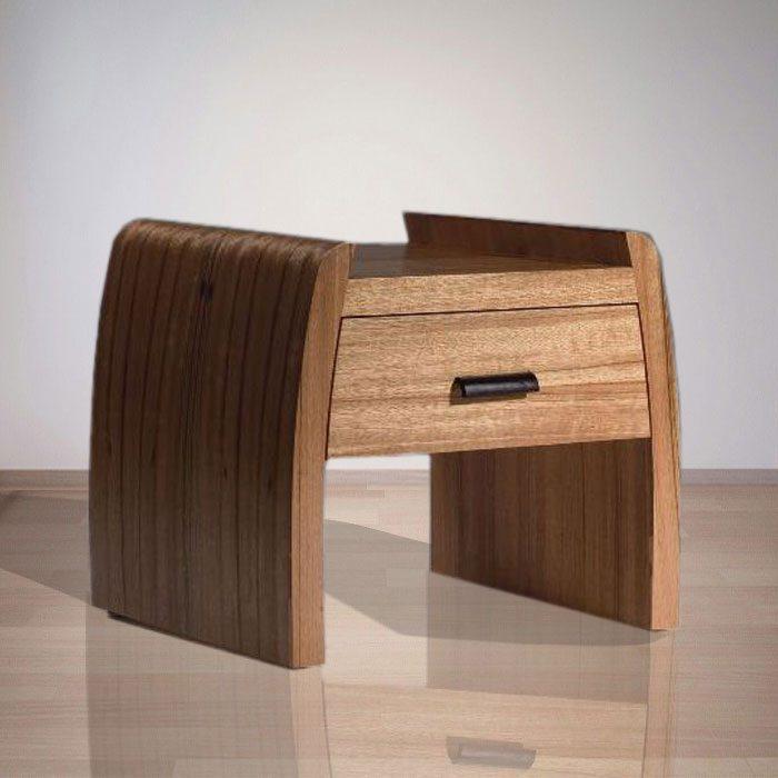 Indonesia Indoor Teak Furniture: Vincent Bedside (IFBS-001)