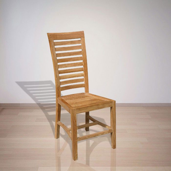 Indonesian Indoor Furniture Wirata Teak Dining Chair (IFDC-002)