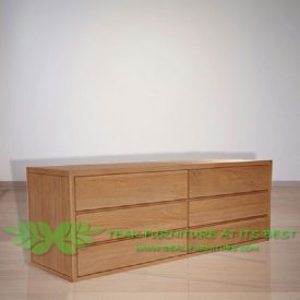 Indonesia Indoor Teak Furniture Amanda Chest (IFCD-001)