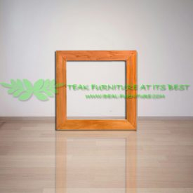 Indonesia Indoor Teak Furniture Andrew Square Mirror Frame (IFMR-001)