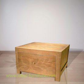 Indonesian Indoor Furniture Angela Teak Bedside (IFBS-015)