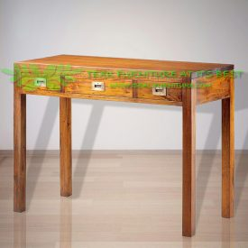 Indonesia Indoor Teak Furniture Annelis Console Drawer 3 D (IFNT-001)