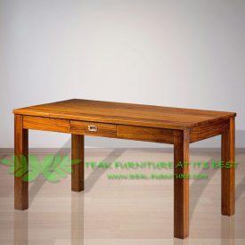 Indonesia Indoor Teak Furniture Annelis Dining Table 150 (IFDT-013)
