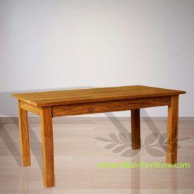 Indonesia Indoor Teak Furniture Annelis DIning Table 2D (IFDT-014)