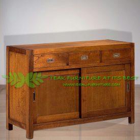 Indonesia Indoor Teak Furniture Annelis-Sideboard-(IFSB-012)