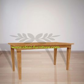 Indonesian Indoor Teak Furniture: Assensio Dining Table (IFDT-009)