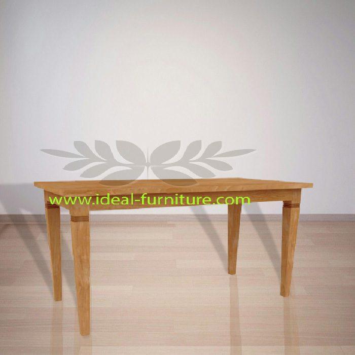 Indonesian Indoor Teak Furniture: Assensio Dining Table (IFDT-009)