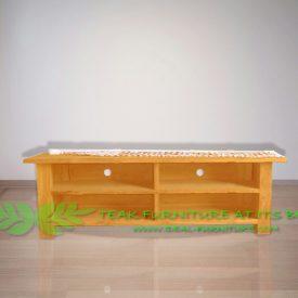 Indonesia Indoor Teak Furniture Bella 160 Audio Rack (IFET-017)