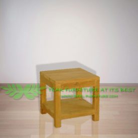 Indonesia Indoor Teak Furniture Dave Side Table (IFST-002)