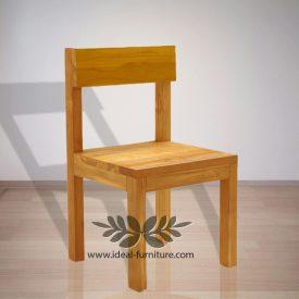 Indonesia Indoor Teak Furniture Einfach Dining Chair (IFDC-017)