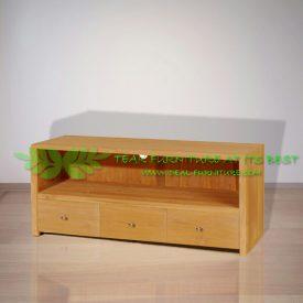 Indonesia Indoor Teak Furniture Einfach TV Stand