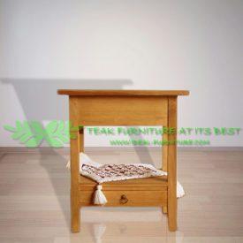 Indonesia Indoor Teak Furniture Emile Side Table (IFST-007)