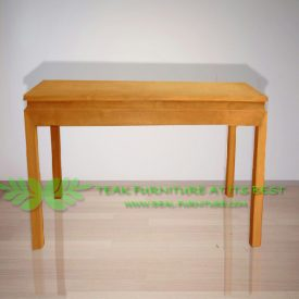 Indonesia Indoor Teak Furniture Fay Console Table 140 (IFDC-009)