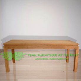 Indonesia Indoor Teak Furniture Fay Dining Table (IFDC-017)