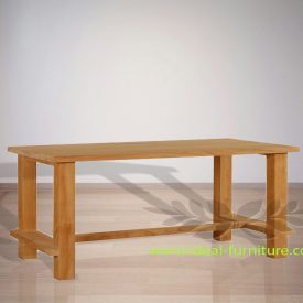 Indonesian Indoor Teak Furniture Fedor Dining Table (IFDC-012)