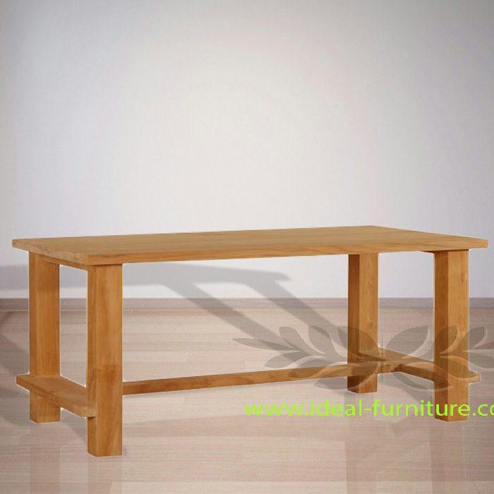 Indonesian Indoor Teak Furniture Fedor Dining Table (IFDC-012)
