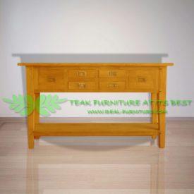 Indonesia Indoor Teak Furniture Fredo Console Table (IFNT-004)