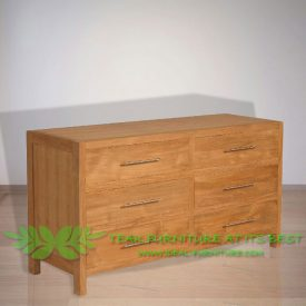 Indonesia Indoor Teak Furniture Gerda Chest of Drawers (IFCD-003)