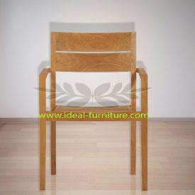 Indonnesian Indoor Teak Furniture Grasshopper Dining Chair (IFDC-020)