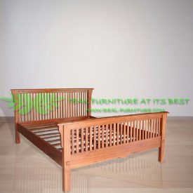 Indonesia Indoor Teak Furniture Harrison Bed (IFBD-008)