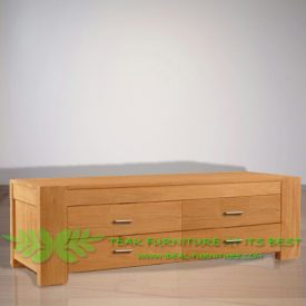 Indonesia Indoor Teak Furniture Harvey TV Stand (IFET-022)