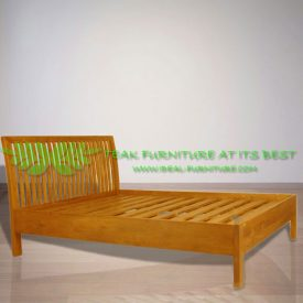 Indoor Teak Furniture Indoor Teak Furniture Hendrick Bed (IFBD-006)