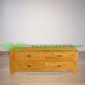 Indonesia Indoor Teak Furniture Joey 120 TV Stand (IFET-024)