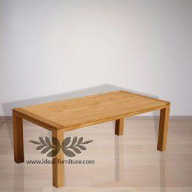 Indonesia Indoor Teak Furniture Ken Dining Table 180 (IFDT-015)