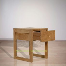 Indonesian Indoor Lothar Teak Bedside Furniture (IFBS-015)