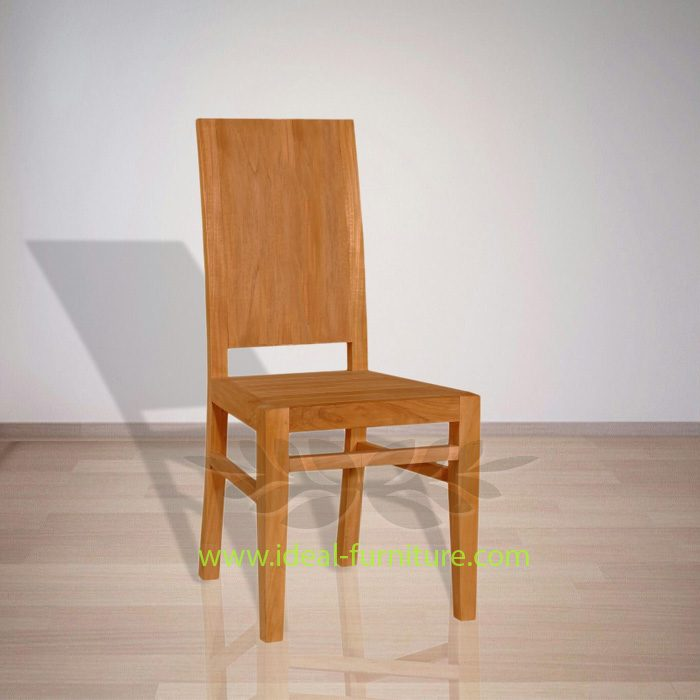 Indonesian Indoor Teak Furniture Melvin Dining Chair 45 x 47 x 100 (IFDC-010)