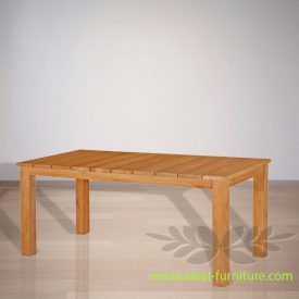 Indonesia Indoor Teak Furniture Pavlov Dining Table (IFDT-008)