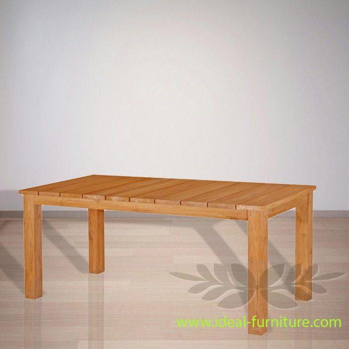 Indonesia Indoor Teak Furniture Pavlov Dining Table (IFDT-008)