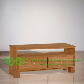 Indonesia Indoor Teak Furniture Renat 120 TV Stand