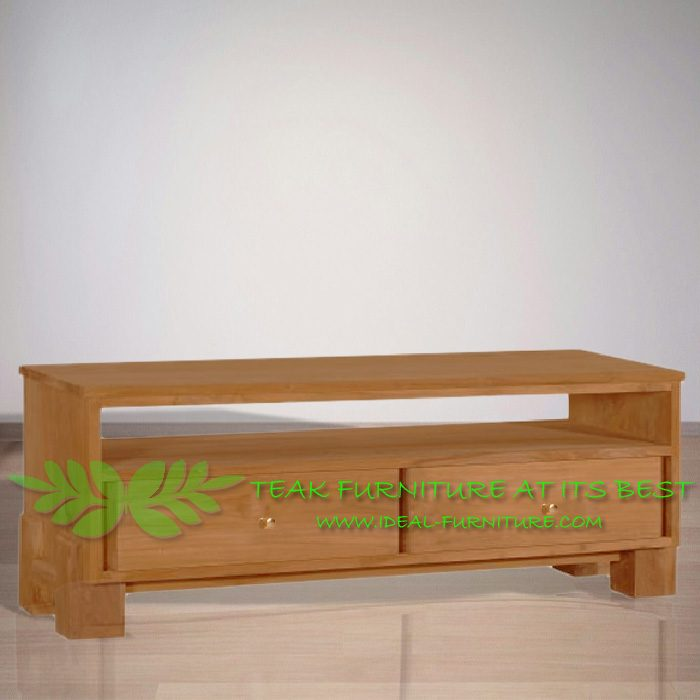 Indonesia Indoor Teak Furniture Renat 160 Teak TV Stand