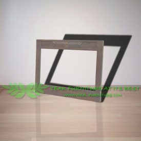 Indonesia Indoor Teak Furniture Rustic 120 Mirror Frame (IFET-008)