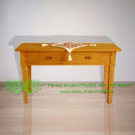 Indonesia Indoor Teak Furniture Salvatore Console Table (IFNT-008)