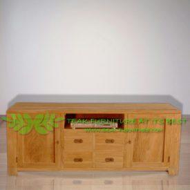 Indonesia Indoor Teak Furniture Slava TV Stand (IFET-023)