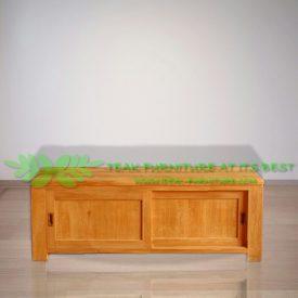 Indonesia Indoor Teak Furniture Slavik 120 TV Stand (IFET-020)